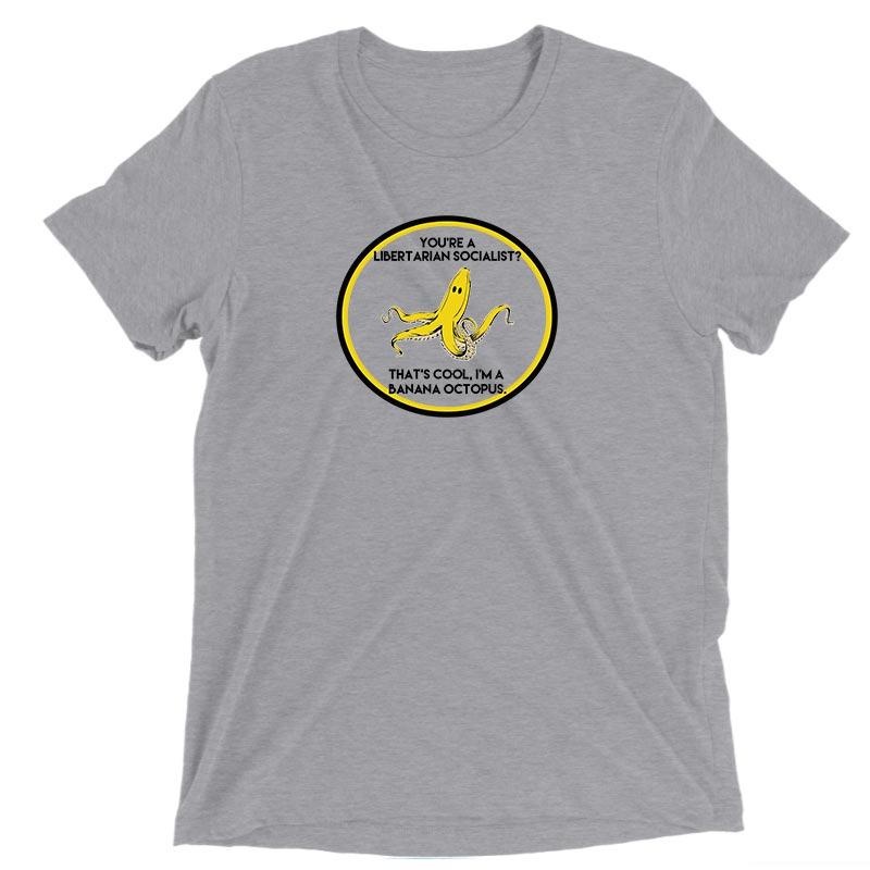 BananaOctopus Neutral Mens Triblend Shirt
