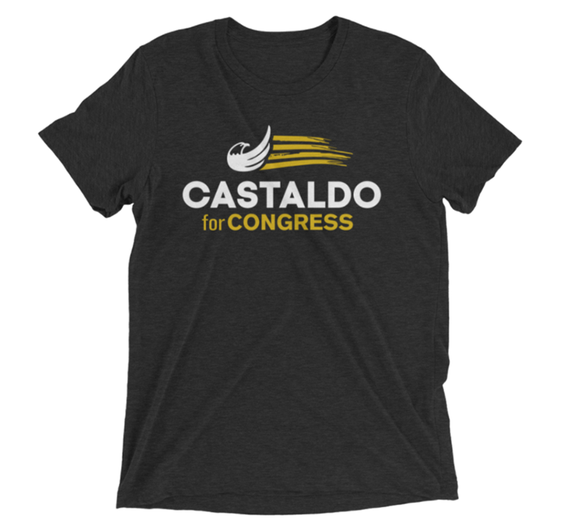 Castaldo for Congress Shirt Vintage