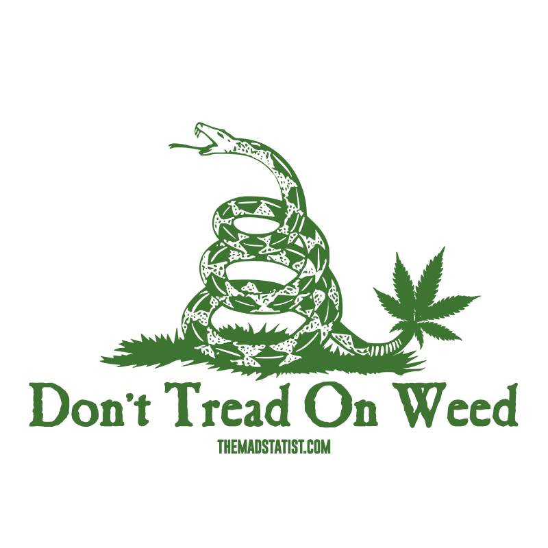 DONT TREAD ON WEED 2