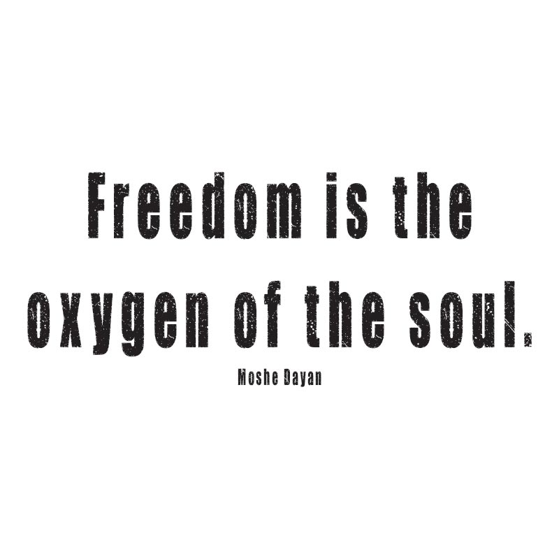 FREEDOM IS THE OXYGEN OF THE SOUL – GRUNGE