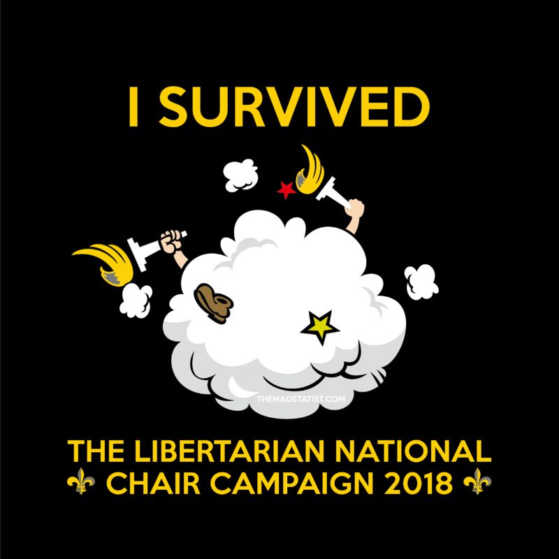 I SURVIvED THE LIBERTARIAN