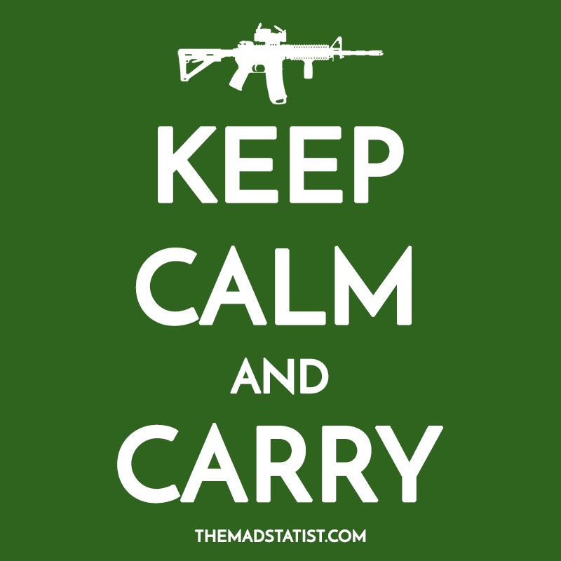 KEEP CALM AND CARRY-AR15