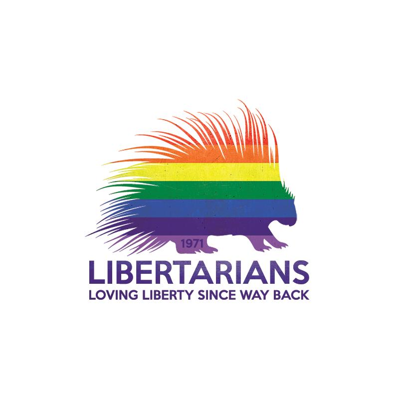 LIBERTARIANS LOVING LIBERTY SINCE WAY BACK RAINBOW