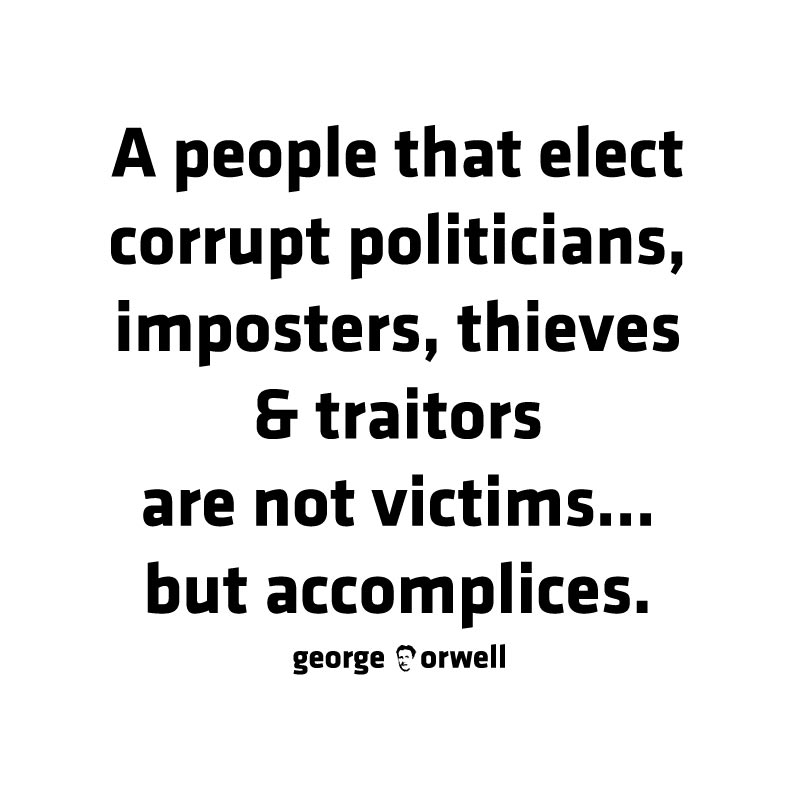 NOT VICTIMS BUT ACCOMPLICES