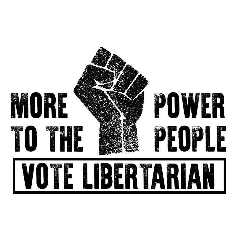 POWER TO THE PEOPLE – RAISED FIST