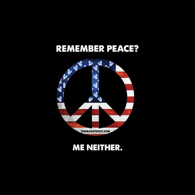 REMEMBER PEACE – ME NEITHER