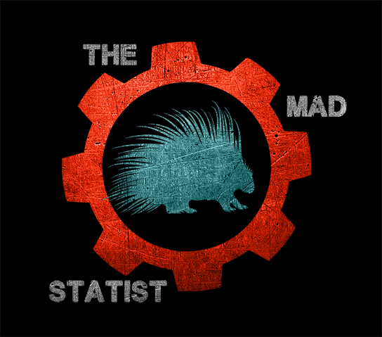 THE MAD STATIST LOGO