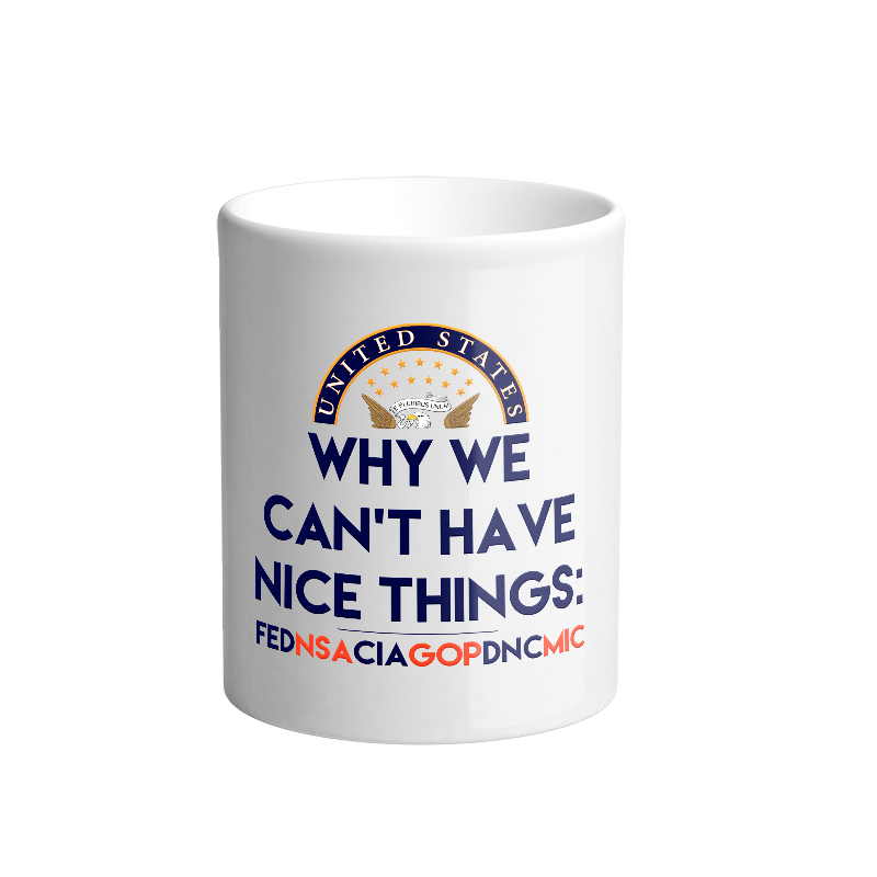 Why we can't have nice things mug
