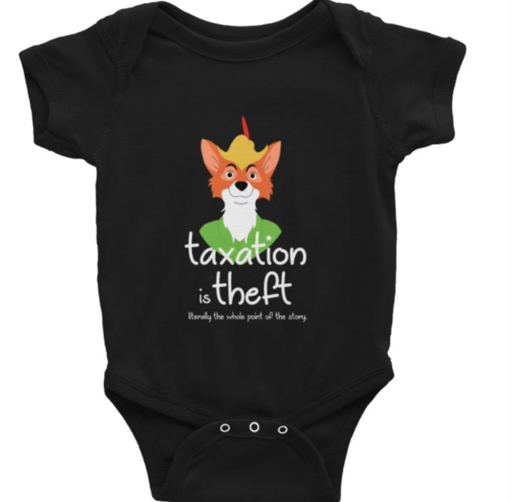 Robin Hood – Taxation is theft