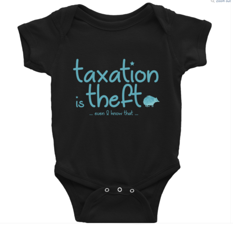 Taxation is theft – Child