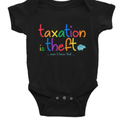 Taxation is theft – Multicolored